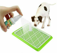 NEW SAFE DOG PUPPY TOILET TRAINING SPRAY PET POTTY AID PADS*HOT CAT PEE D3J6