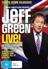 Jeff Green - An Englishman In Australia (DVD, 2014) New  Region 4
