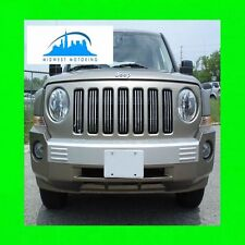 07-13 JEEP PATRIOT CHROME TRIM FOR GRILL GRILLE 08 09 10 11 12 W/5YR WARRANTY