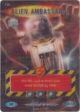 "Doctor Who Battles In Time Ultimate Monsters: Ultra Rare UR ""Alien"" Card #730"