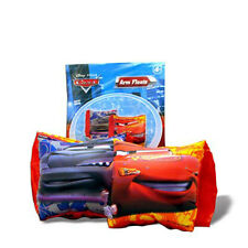 Disney Cars Lightning McQueen Water Swim Pool Inflatable Arm Floats NEW 4+