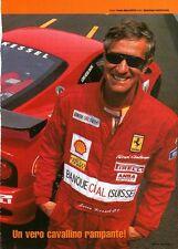 Q20 Clipping-Ritaglio 2002 Intervista: Loris Kessel - Sempre in pista