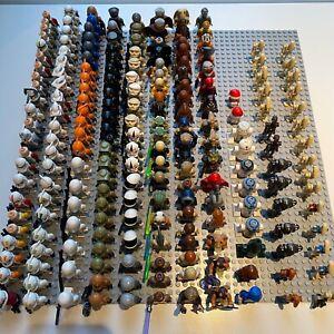 Lego Star Wars huge select your mini figure bundle - 199+ Genuine Lego Selection