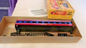 HO Scale Roundhouse 60' Bicentennial 1776 Passenger Coach Car Red, White, Blue