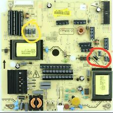 VESTEL 17PW06-2 Power Board Repair Kit - LED DEAD TV No Standby TOSHIBA 26DL833