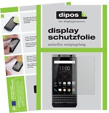 6x Blackberry KeyOne Schutzfolie matt Displayschutzfolie Folie dipos