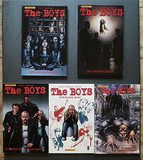 THE BOYS Ennis Robertson McCrea Lotto Stock n. 2-3-4-7-8 Dynamite  Panini Comics
