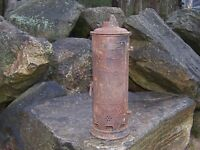 Antique Humphrey No 5I Water Heater Copper Still Cast Iron Wood / Coal Stove