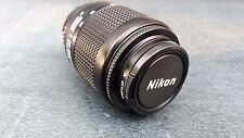 Nikon AF Nikkor 80-200mm f/4.5-5.6 d tele-objetivamente, usado