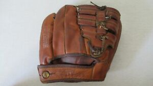 VINTAGE WILSON A2170 TWO FINGER LEATHER BASEBALL GLOVE