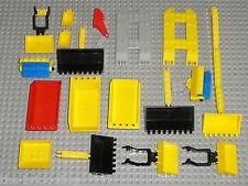 Lot vrac pelles...LEGO Ville Chantier TOWN / Buckets 4080 3433 2512 30394 ...