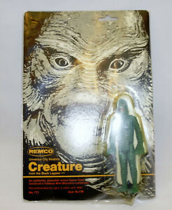 REMCO 1980 Creature from Black Lagoon Universal Monsters Figure New on Card