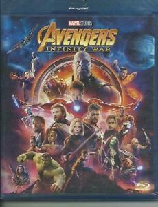 The Avengers. Infity war (2018) Blu Ray
