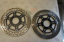 E SUZUKI SV 650 2006 OEM FRONT ROTORS LEFT AND RIGHT