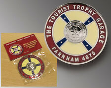 The Tourist Trophy Garage St. Christopher Dashboard Badge