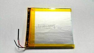 Lithium Polymer LiPo Batterie Akku 3000mAh 3.7 V 3mm Tablet ** NEU **