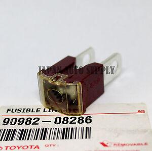 OEM GENUINE TOYOTA Sienna Rav4 Tacoma 4Runner 140 AMP FUSIBLE LINK 90982-08286