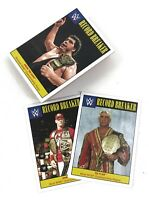 WWE 2016 Topps Heritage 37 Card Record Breaker Insert Lot Cena Andre Flair