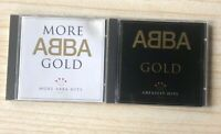 ABBA Gold + More Gold Greatest Hits CD Albums - Pop music, Eurovision, 2020 Sale