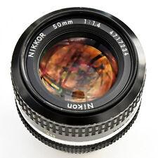 Nikon Nikkor 50mm f/1.4 AI Super Sharp Lens. Exc++++ Tested. See Test Images