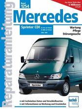 MERCEDES SPRINTER CDI 2000-2005 DIESEL 208 BIS 416 REPARATURANLEITUNG 1254