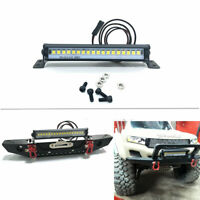 83MM LED Light Bar DIY for 1/10 Traxxas TRX-4 TRX6 Axial Scx10 ll Front Bumper