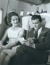 ROGER MOORE THE SAINT SIGNED 8x10 PHOTO - UACC RD AUTOGRAPH