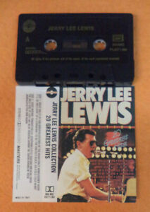 MC JERRY LEE LEWIS Collection 20 greatest hits italy MASTERS cd lp dvd vhs