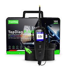 JDIAG P100 12V 24V Car Truck Circuit Tester Battery Voltage Power Probe Scan