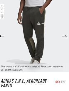 Adidas Originals, BNWT, Sz L, Mens, Active, ZNE Aeroready Sweatpants