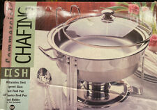 New ListingCommercial Chafing Dish Stainless Steel New In Box