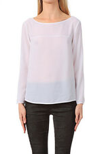 CLASSIC NEW FRENCH CONNECTION PENNY PI PARTY TOP BLOUSE PARTY PINK ~ SZ S 76BCO