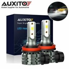 2x AUXITO H8 H11 H16 LED Fog Light Bulb 6000K Cool White for Honda Subaru Toyota