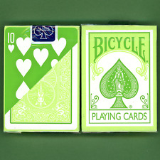 Bicycle Green Back Playing Cards Ohio Vintage