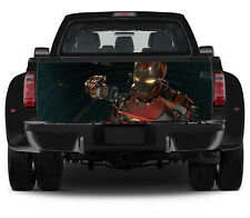Truck Tailgate Vinyl Decal Ironman Tony Stark Graphics Full Color Wrap Sticker