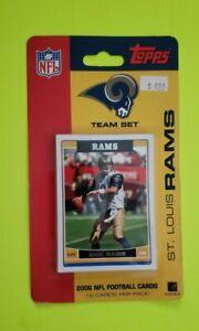2006 Rams Topps Sealed 12 Card Set NOS
