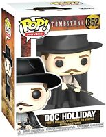 "FUNKO POP TOMBSTONE-""DOC HOLIDAY"" .PRO-GRADED #MUV51609- TOTALLY MINT"