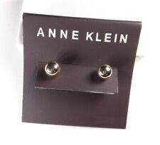 Ball Earrings - New Anne Klein Gold Tone