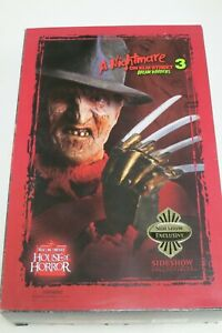 "SIDESHOW A Nightmare On Elm Street 3 ""Freddy Krueger"" 1/6th Figure NEW Exclusive"