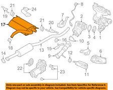 VOLVO OEM 15-18 S60 2.0L-L4-Exhaust Muffler-Rear 31452079