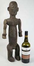 African tribal art Luba debout Ancêtre Figurine avec articulé bras