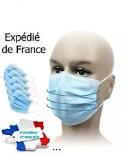 pack X50 Protection chirurgical médical dentaire industriel 3 plis F F P 2