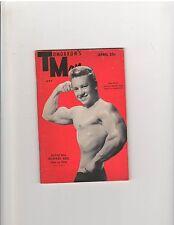 Gay Art Tomorrow's Man Muscle Bodybuilding Magazine/Howard Keel 4-55