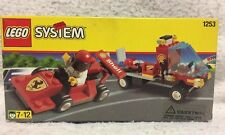 LEGO System 1253 Shell Ferrari Race Car and Transporter (1999) New in Sealed Box