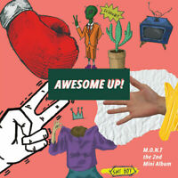 M.O.N.T MONT AWESOME UP! (2nd Mini Album) CD+Photobook+Photocard+Tracking no