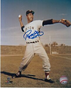 PUMPSIE GREEN  BOSTON RED SOX   ACTION SIGNED 8x10