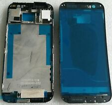 Cornice LCD BEZEL FRAME CHASSIS GUSCIO Cover Housing Grigio display per HTC One m8