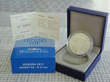 10 euro BE France 2011 argent - EUROPA 2011 FETE DE LA MUSIQUE RARE  !!!!