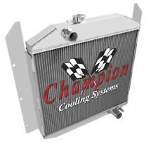 49 50 51 52 Studebaker Pickup Champion 3 Row Aluminum Radiator CC4952