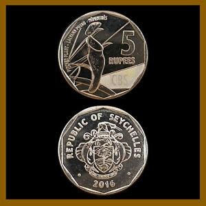 Seychelles 5 Rupees Coin, 2016 Pitcher Plant Unc